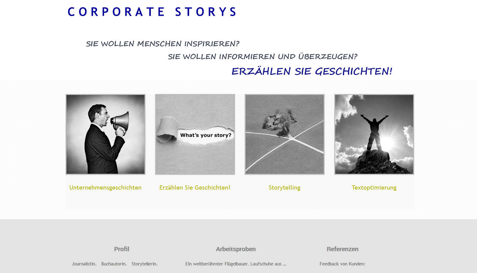 Coprporate Storys