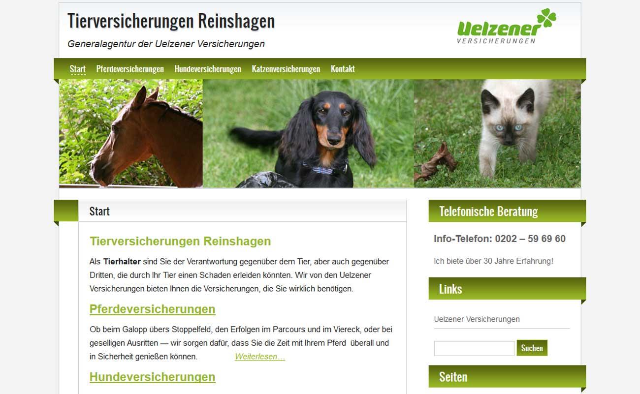 Tierversicherungen Reinshagen