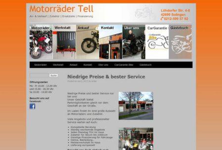 Motorräder Tell